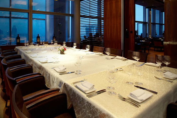 Level 33 - private dining rooms restaurants in Singapore
