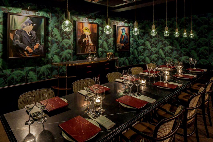The Black Swan - private dining rooms restaurants in Singapore