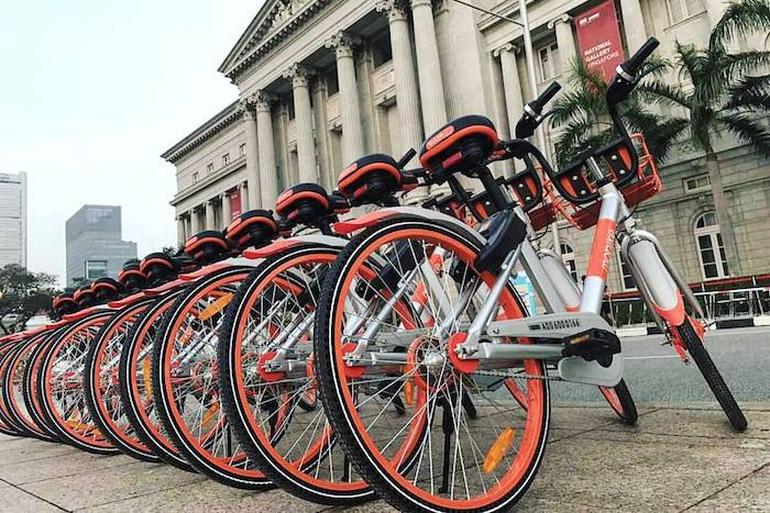 bike sharing singapore review