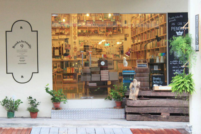BooksActually Secondhand Bookstores in Singapore